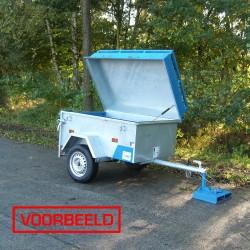 Bagagewagen - Hoog Deksel