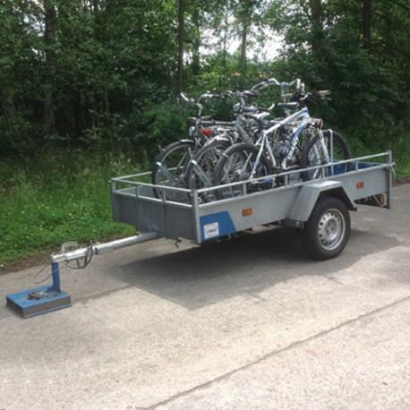 Enkelas - Fietsenrek (tot 5 fietsen)