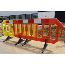 Veiligheidshek - Kunststof HDPE