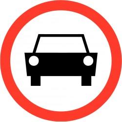Verboden voor voertuigen