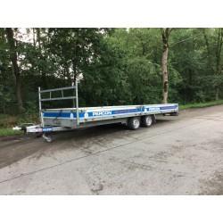 Plateauwagen - 6 meter