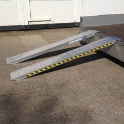 Aluminium Oprijplaten - 1600kg