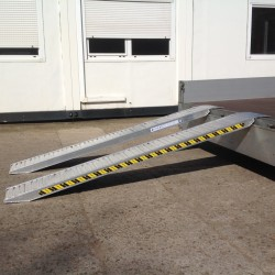 Aluminium Oprijplaten - 3500kg
